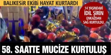 58. SAATTE MUCİZE KURTULUŞ