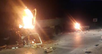 Afrin'de araçla bombalı saldırı engellendi