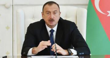 Azerbaycan Cumhurbaşkanı Aliyev 48 köyün daha kurtarıldığını açıkladı