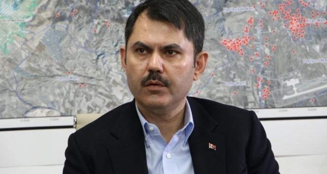 Bakan Kurum: 'Elazığ'da 19 bin 500 konuttan 2 bin 500'ünü tamamladık'