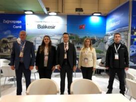 BALOSB EXPO Fuarı'nda yatırımcıyla buluştu