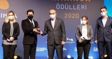 Bursa Büyükşehir'e çifte ödül