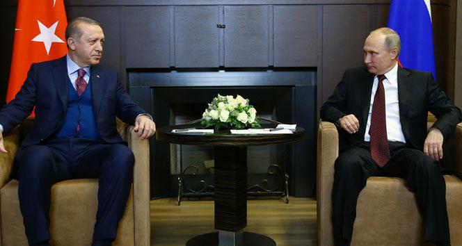 Cumhurbaşkanı Erdoğan ile Putin arasında kritik görüşme!