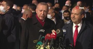 Cumhurbaşkanı Erdoğan: 'Maraş gerçek sahiplerine kavuşacağı günü bekliyor'