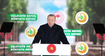 Cumhurbaşkanı Erdoğan: 'Sahte çevrecilere aldırmadan çalışmalara devam ediyoruz'