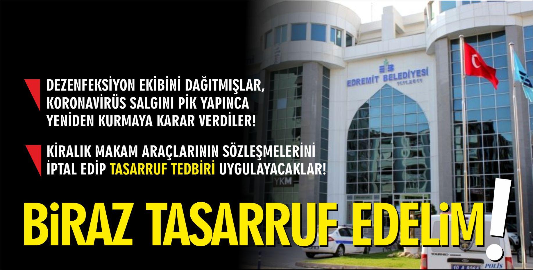 BİRAZ TASARRUF EDELİM!
