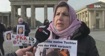 PKK tarafından kızı kaçırılan annenin evlat nöbeti aralıksız sürüyor