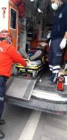 Son dakika haberi   Kamyonette sıkışan sürücüyü itfaiye kurtardı