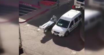 Teksas'ta Covid-19'dan ölenlerin cesetlerini mahkumlar taşıyor