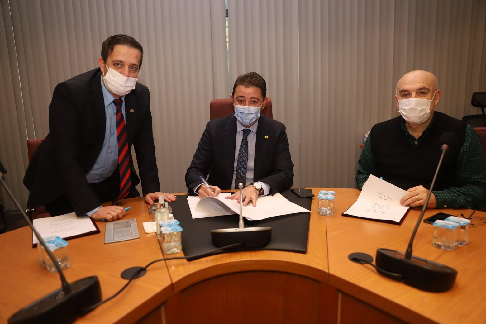 Belediye'de çalışan memurlar için sosyal denge sözleşmesi imzalandı