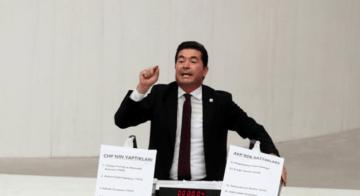 'CHP'nin yaptıkları 15 metre, AKP'nin sattıkları 13 metre!'