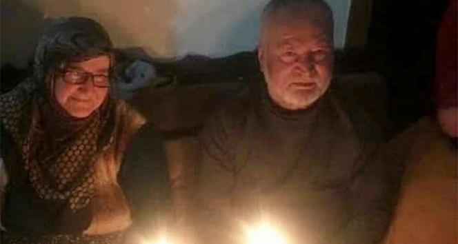 57 yıllık evli çift 5 saat ara ile korona virüse yenildi