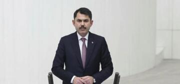 Bakan Kurum Zağnos Paşa Meydanı projesini TBMM'de anlattı
