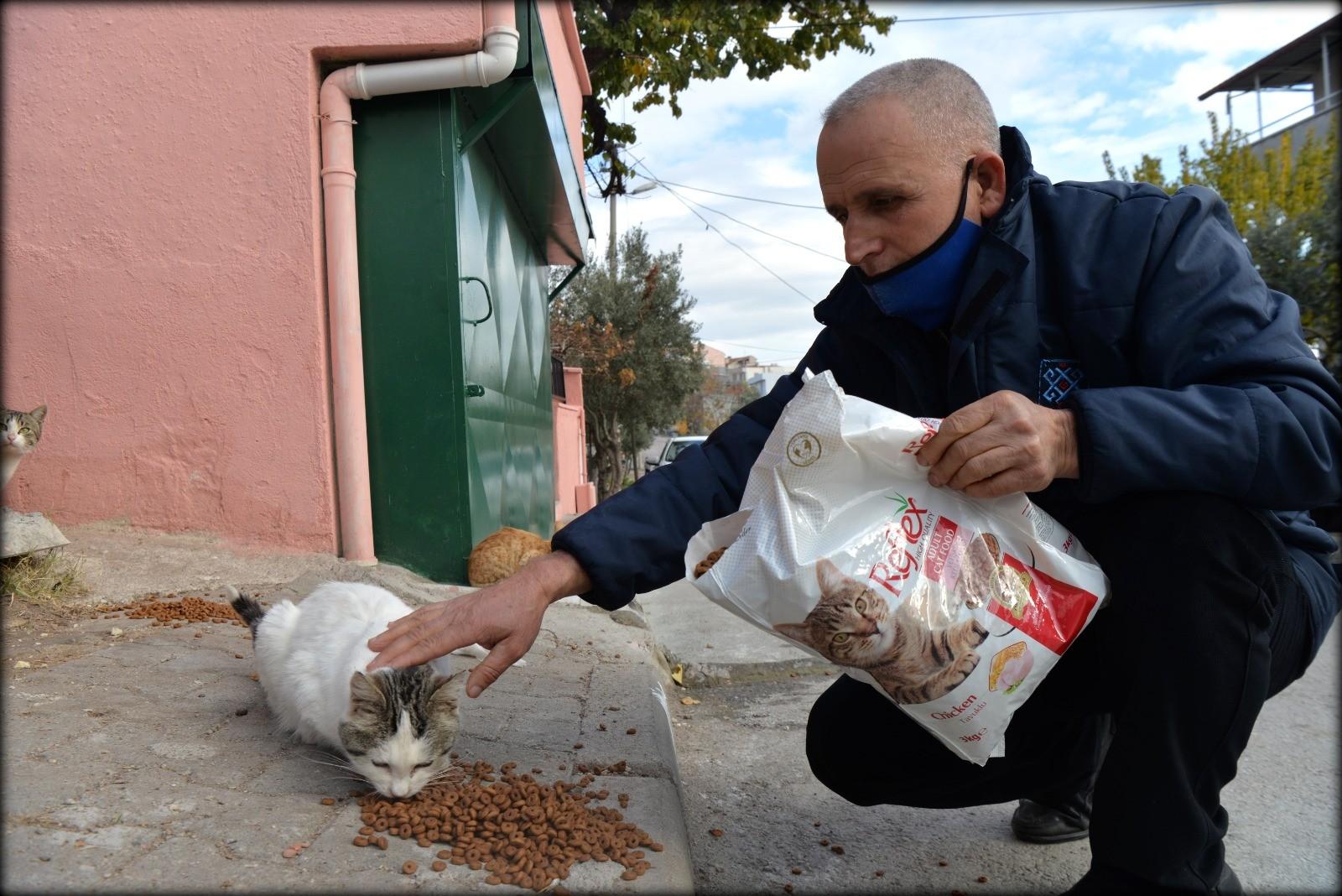 Altıeylül Belediyesi sokak canlarını yalnız bırakmıyor