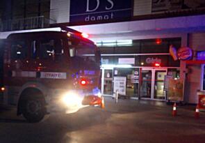 Edremit'teki AVM'de yanlış yangın alarmı paniğe neden oldu