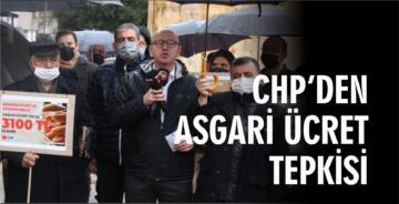 CHP'DEN ASGARİ ÜCRET TEPKİSİ