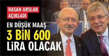 EDREMİT BELEDİYESİ'NDE EN DÜŞÜK MAAŞ 3 BİN 600 TL OLACAK