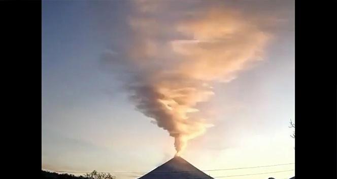 Avrasya'nın en aktif yanardağı tekrar harekete geçti