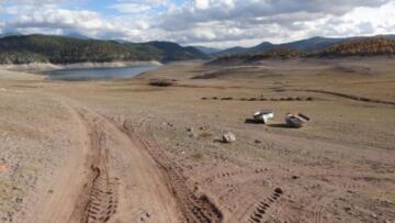 Çaygören Barajı nda su seviyesi yüzde 10'un altında