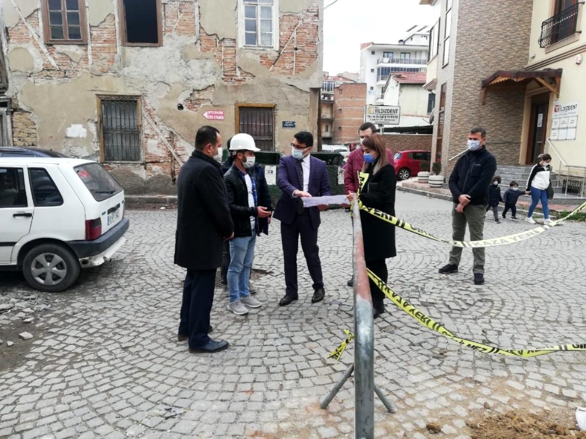 Edremit'te eski sokak bu proje ile hayat buluyor