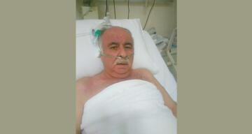 Gaziantep'teki hastane yangınında ölen eski belediye başkanı toprağa verildi