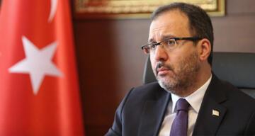 Gençlik ve Spor Bakanı Kasapoğlu ve eşinin Covid-19 testi pozitif çıktı