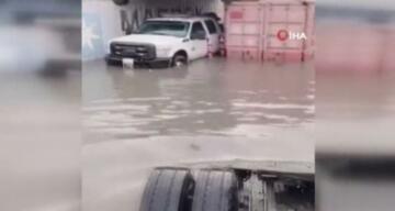Irak'taki Um Kasr Limanı sular altında kaldı