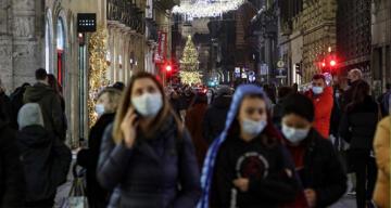 İtalya'da son 24 saatte Covid-19'a bağlı 628 ölüm
