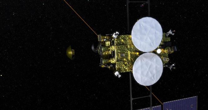 Japonya'nın Hayabusa-2 uzay aracının kapsülü Dünya'ya ulaştı