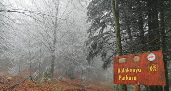 Kazdağları'na mevsimin ilk karı yağdı