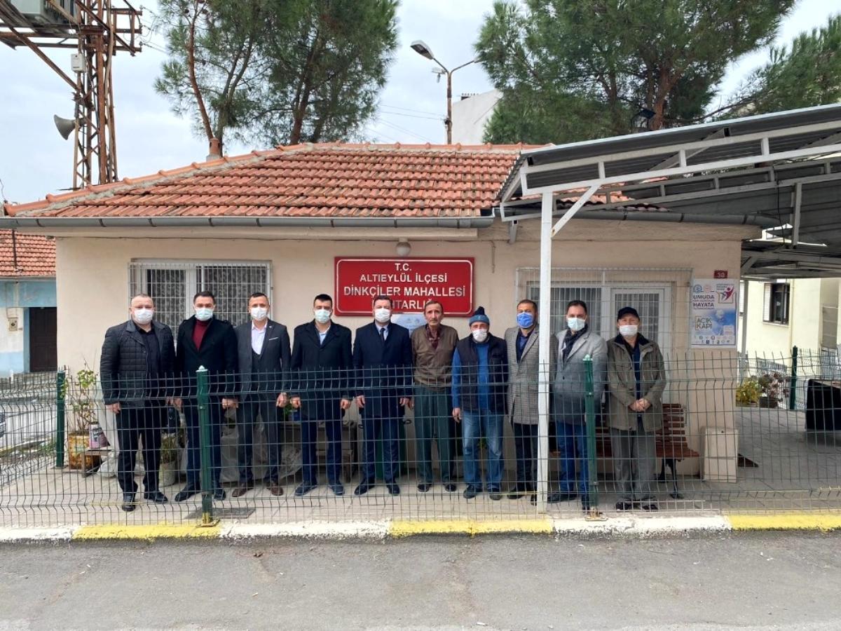 Son dakika! MHP den mahalle muhtarlara ziyaret