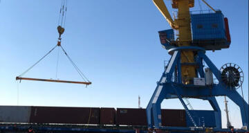 Türkiye'den Çin'e giden ilk ihracat treni Kazakistan'a ulaştı