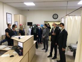 Milletvekili Adil Çelik'ten sağlık çalışanlarına yeni yıl ziyareti