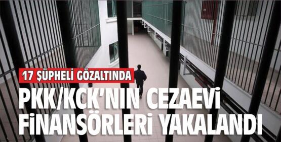 PKK/KCK'NIN CEZAEVİ FİNANSÖRLERİ YAKALANDI
