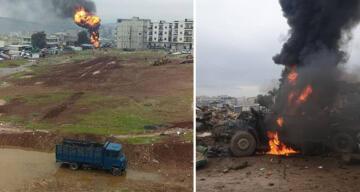 Afrin'de PKK/YPG'nin bombalı saldırısında 5 kişi hayatını kaybetti