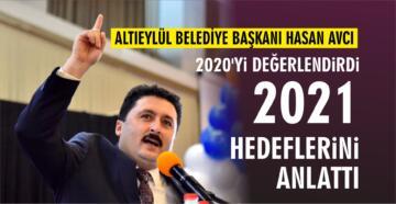 HASAN AVCI 2020'Yİ DEĞERLENDİRDİ, 2021 HEDEFLERİNİ ANLATTI