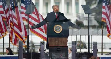 Trump: 'Asla pes etmeyeceğiz. Asla boyun eğmeyeceğiz'