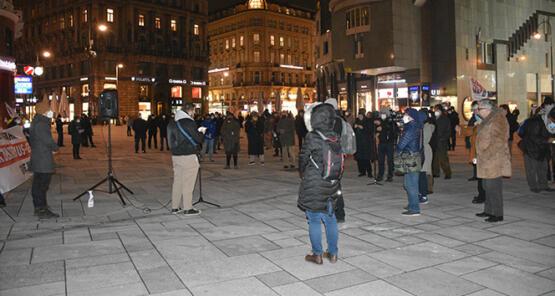 Viyana'da terörle mücadele yasa tasarısı protesto edildi