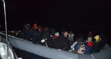 Yunan unsurlarınca geri itilen 29 düzensiz göçmen kurtarıldı