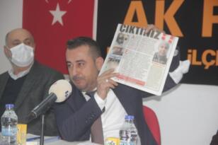 """""""EDREMİT BELEDİYE BAŞKANI İLE YÜRÜYECEK YOLUMUZ KALMADI"""""""
