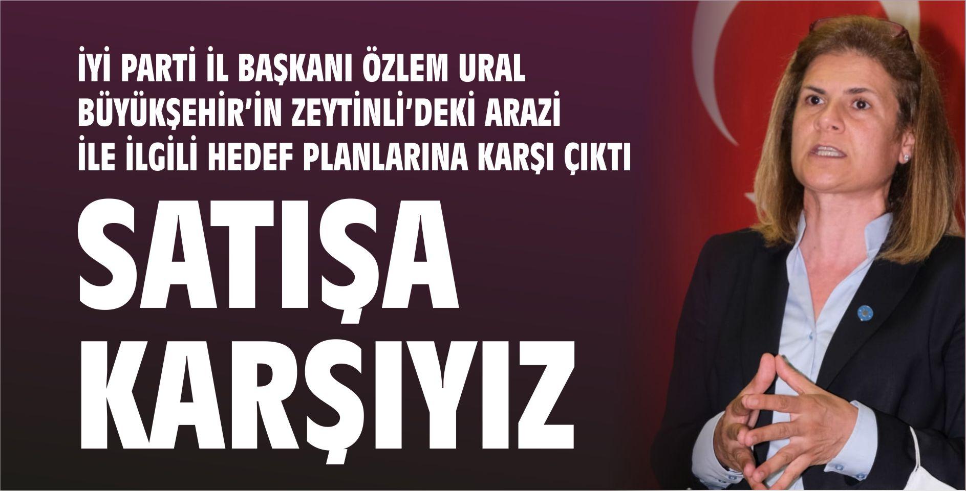 İYİ PARTİ İL BAŞKANI ÖZLEM URAL POLİTİKA'NIN SORULARINI YANITLADI