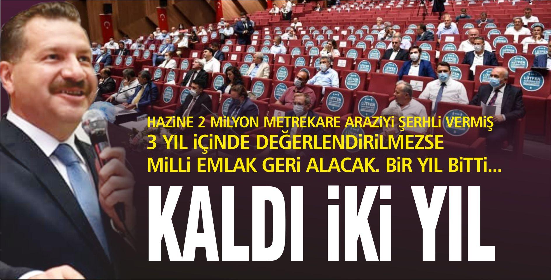 KALDI İKİ YIL!