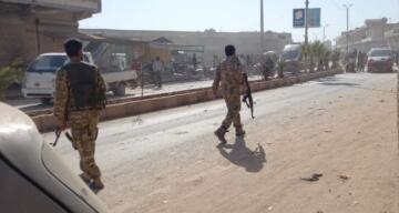 Afrin'de bomla yüklü araç patladı: 4 yaralı