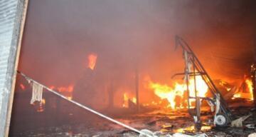Antalya'daki yangında 350 ton sebze küle döndü, 6 milyon zarar var