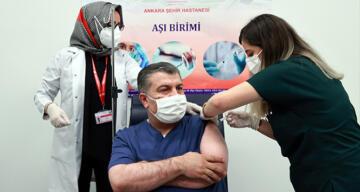 Bakan Koca: '28. gün ikinci doz aşımı oldum'