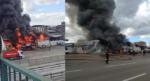 Bursa'da büyük yangın…Dumanlar gökyüzünü kapladı