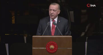 Cumhurbaşkanı Erdoğan, 'Bizim Yunus' Yılı Açılış programında konuştu