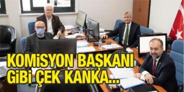 ŞAHİN'DEN 'KOMİSYON BAŞKANI' POZU!