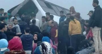 Mısır'da zincirleme kaza : 65 yaralı