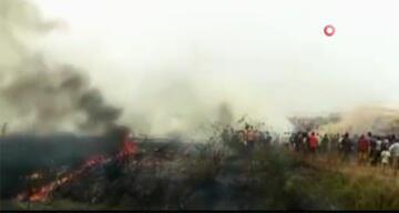 Nijerya'daki uçak kazasında 7 kişi öldü